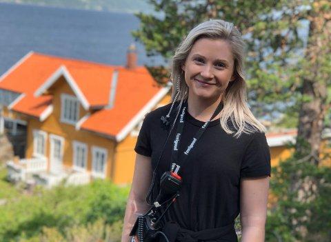 OSLOJOBB: Ann Kristin Andreassen sa opp fast journalistjobb for å satse på TV-drømmen i Oslo.