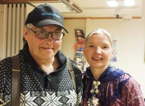 Uenig: Torbjørn Børgefjell er ikke enig med forfatter Siri Broch Johansen.Begge Foto: Toril Risholm