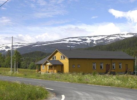 Drevvatn bygdehus i Vefsn får 558.000 kroner iav spillemidlene. Foto: Torild Wika
