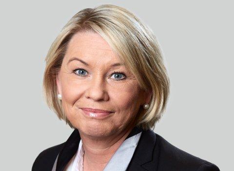 SKAR IGJENNOM: Kommunalminister Monica Mæland (H) har nå bestemt hva den nye kommunen skal hete.