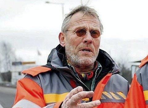 Takker av etter 46 år: Reidar Jørgensen har blitt pensjonist etter 46 år på veien. Arkivfoto
