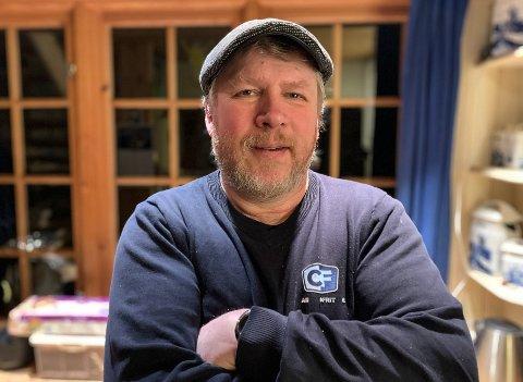 HEIAGUTT: Robert Hellermyr bor selv på Levangsheia. Nå ser han fram til å ta fatt på arbeidet i prosjektgruppa.