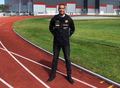Jonathan Varela Byrkjenes reiser neste veke til Ungarn saman med dei norske ungdommane som skal delta i EM U18 i friidrett i Ungarn. (Foto: Privat).