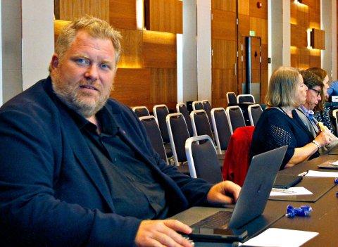 VIKEN: Bjørn Tore Ødegården (Ap) mener Viken må få økonomisk støtte fra nasjonalt hold til å oppløse seg selv som fylke.