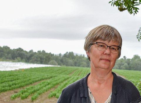 LANDBRUKSSJEF: Marit Fjelltun har litt å velge i når hun skal ansette ny utmarkskonsulent i Lier kommune.