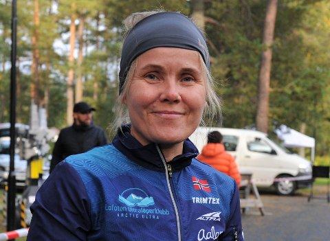 Wenche Johnsen fra Reine løp 165 kilometer i løpet av 24 timer.