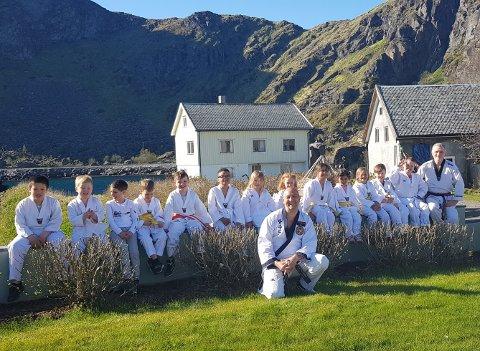 Fra sommeravslutningen til Stamsund taekwondo og hakpido-klubb.