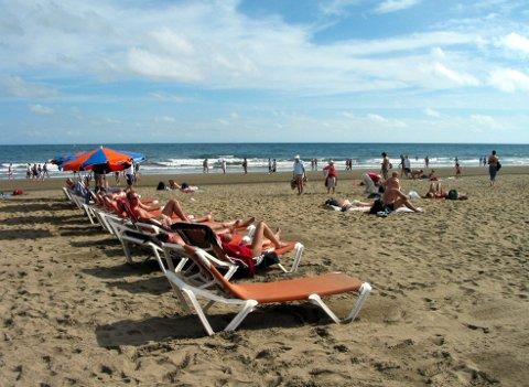 For 598 kroner kan du nye sol og sommertemperaturer på Gran Canaria.