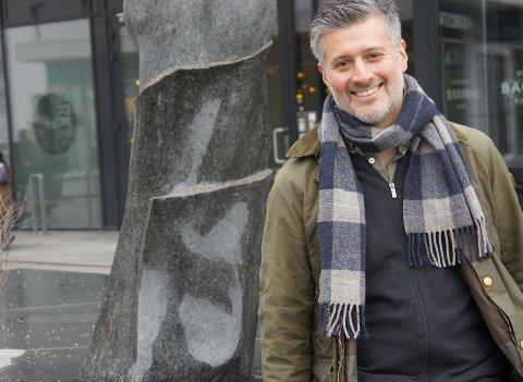 Kristian Ulyses Andaur driver Instagram-kontoen Mat fra Kua. Det har ingenting med en ku og gjøre, men er initialene til Andaur.