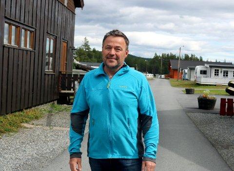 Peter Brag  på Randsverk Camping.