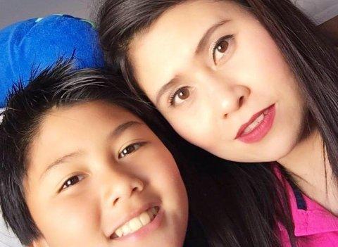 DREPT: Petchngam (12) og moren Pimisiri Songngam (37) ble skutt og drept i Kirkenes natt til 29. august i fjor. Nå er en 59-åring fra Kirkenes tiltalt for drapene.