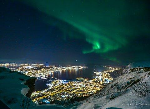 Boligmarkedet i Tromsø nådde nye høyer i 2020.