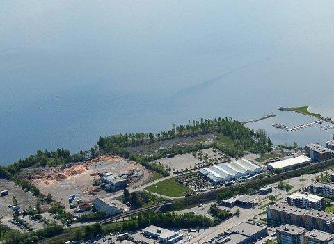 GOBB eier nabotomta, og tror det til sammen kan bygges 700-800 boenheter i dette området.