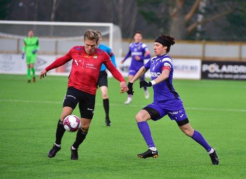 Matias Belli Moldskred og Raufoss tok en viktig og fortjent seier i bortekampen mot Stjørdals/Blink.