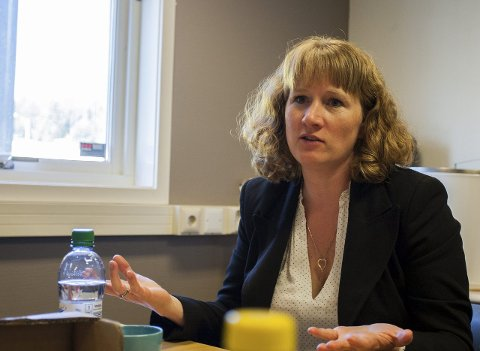 Ordførerkandidat: Tuva Moflag (Ap) håper på tverrpolitisk enighet om et løfte for lærlinger. FOTO: EIRIK LØKKEMOEN BJERKLUND