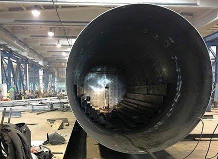 KJØLELAGER: Tre energilagertanker av denne størrelsen skal føre til at Veterinærbygget på Campus Ås kan spare hundretusener i strømutgifter hvert år.
