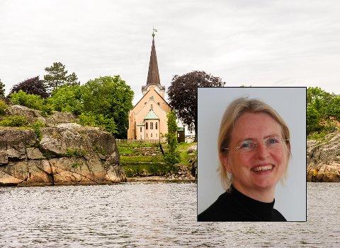 Fikk jobben: Sølvi Kristin Lewin er ansatt som prost i Larvik. Hun overtar etter Terje Fonk, som går av med pensjon.