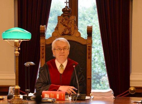 SJEF: Høyesterettssaken ble ledet av dommer Clement Endresen.