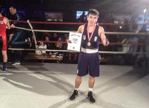 Javid Anwali vant nybegynnermesterskapet i Drammen.