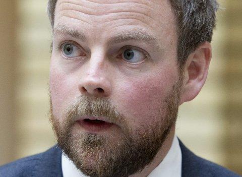 Karakterkrav: Torbjørn Røe Isaksen.