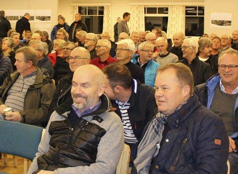 E18: Fra informasjonsmøtet om E18 på Heistad for to uker siden.