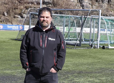 Store planer: Hovedlagsleder Tore Jensen lanserer store planer for idrettsanlegget på Stridsklev i en forespørsel til Porsgrunn kommune. Det planlegges for en formidabel oppgradering av anlegget, med rulleskiløype og ny kunstgressbane.