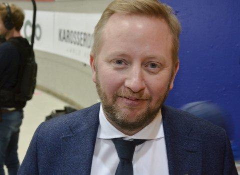 Fornøyd: Fredrik Søderstrøm er svært fornøyd med sin svenske back.