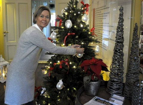 Ellen Sofie Aasheim har pyntet hele Fengselet til jul i år også.