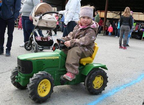Lotte Bjerknes hadde tatt seg en traktortur.