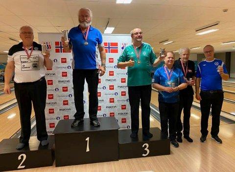 NM HERRER: Thore Liberg gikk til slutt helt til topps.