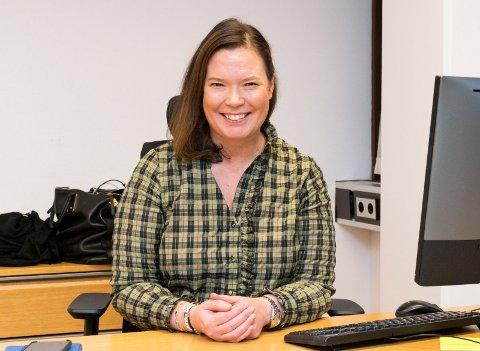 MÅ SPARE PENGER: – Det går mye bedre nå, men vi er fortsatt avhengig av å styrke lønnsomheten, sier Kathrine Lyngstad, administrerende direktør for Spenncon.