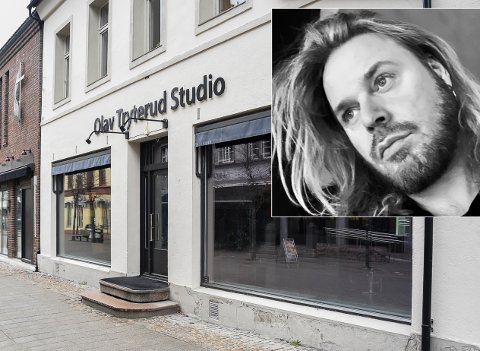 FÅR ÅPNE IGJEN: Olav Tryterud studio er stengt under korona-krisen. Men nå ser det lysere ut.