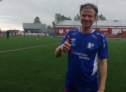TIDLIGERE STORTALENT: Gunnar Norebø representerte alle norske U-landslag før skader ødela karrieren. Nå skal 43-åringen hjelpe Rælingen med å unngå nedrykk til 5. divisjon.