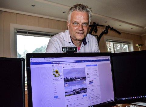 FORSKER: Oscaar Floor er administrator og redaktør for Facebooksiden «Om Smiths Venner».