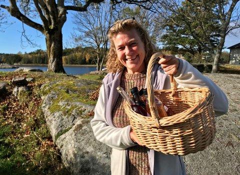 SNADDER FRA NATUREN: Jeg er langt over gjennomsnitt opptatt av sopp, bær og nyttevekster. Min sesong begynner på våren, sier Ellen Merethe Grorud.