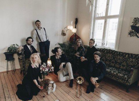 BENREDDIK: Jazzbandet skal stå på scenen på Hjertnes 12. februar, dersom koronaen ikke setter en stopper for konserten.