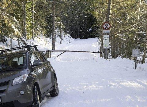 BLIR OPNA: Sogndal kommune og grunneigar har kome til ei løysing som gjer til at Gorovegen vil bli brøytt i vinter.
