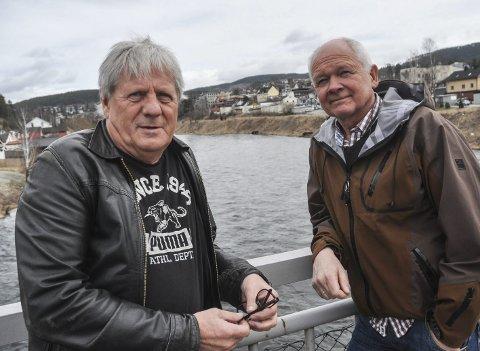 Slå sammen: Notodden SVs Reidar F. Solberg (til venstre) og Håvard Bakka mener at en sammenslåing av Notodden, Tinn og Hjartdal er den beste konstellasjonen – dersom kommuner skal slås sammen i vår region.