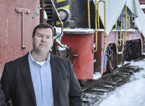 Nye millioner: Direktør Runar Lia søker Riksantikvaren om 31 millioner, og turisttrafikk på tog og ferje er  øverst på agendaen.