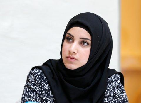 Faten Mahdi Al-Hussaini sitt valgprogram har fått en massiv klagestorm før det i det hele tatt er sendt.