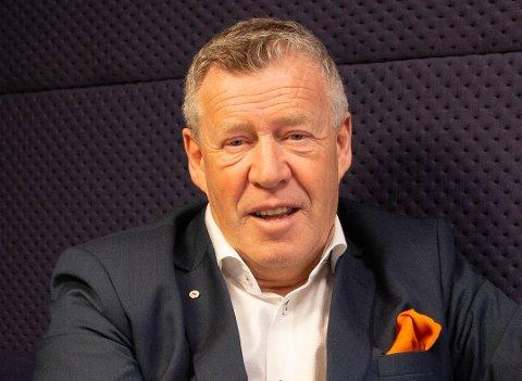 Adm. direktør Odd Einar Folland kan le hele veien - fram og tilbake - til banken, etter SpareBank 1 Nordvests rapportering av resultater etter årets tredje kvartal.
