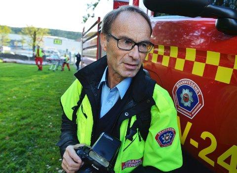 VIKTIG: Arnt E. Folvik har engasjert seg forebygging av selvmord. Til daglig er han informasjonsrådgiver i Vestfold interkommunale Brannvesen.
