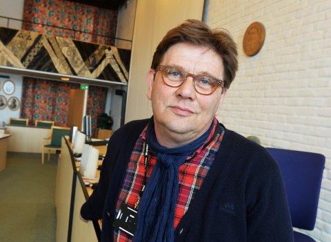 GÅR TILBAKE: Ap i Tønsberg går kraftig tilbake på en måling gjort for Tønsbergs Blad. Per Martin Aamodt lvoer en tydelig spissing av partiet frem mot neste valg.