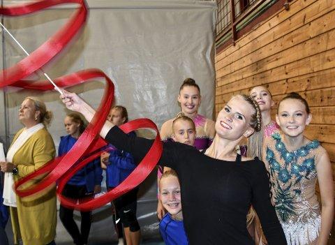 Den tidligere landslagsutøveren Katarzyna Zolnowska fra Polen er hovedtrener for RG-utøverne i Tvedestrand. Hun er en av søkerne til stillingen som fysioterapeut i kommunen. Arkivfoto: Marianne Drivdal
