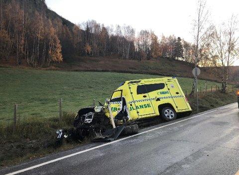 Hadde ambulansen en annen vektfordeling enn andre ambulanser? Og spilte dette eventuelt inn i forhold til ulykken? Dette spørsmålet interesserer Statens Havarikommisjon.