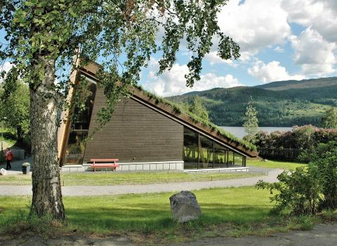 NOMINERT: Valdres Folkemuseum er nominert til Norsk Lyspris 2021. Det synes museumsdirektør, Ole Aastad Bråten, er stas.