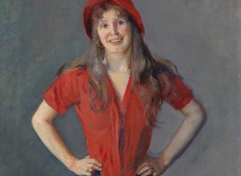BOHEM-PERLE: Dagperlen i Flammen denne gang er Kristi Kinsarviks forestilling om bohemprinsessen Oda Krohg.