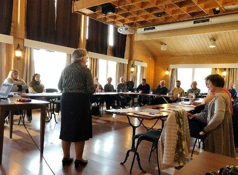 Viktig aktør: Steigen Næringsforum, ledet av Åshild Movik, har igjen tatt initiativ til et viktig møte for å få til næringsutvikling i kommunen.