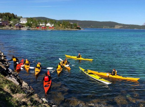 Permanent: Håpet om at tilbudet i friluftslivsfag ved Knut Hamsun videregående skole i Hamarøy kan bli gjort permanent.