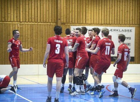 Nyborg vant Nordisk mesterskap for andre gang i klubbens historie. I finalen, da det gjaldt som mest, spilte de kanskje sin beste kamp noensinne. Begge Foto: Rune Johansen.